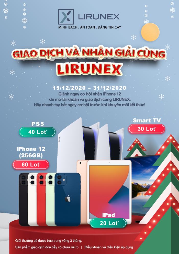 GIAO DỊCH VÀ NHẬN GIẢI CÙNG iPhone 12